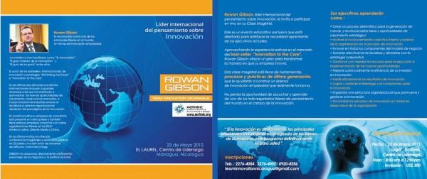 Seminario Innovación con Rowan Gibson