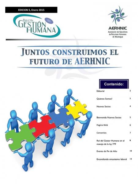 Boletín Gestión Humana, Enero 2015